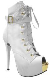 Ankle Boot Branco Acácia