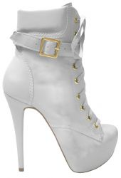 Ankle Boot Branco Beatrice