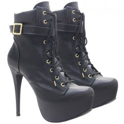 Ankle Boot Preto Beatrice